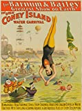 Barnum and Bailey - Coney Island Vintage Poster USA c. 1898 (9x12 Art Print, Wall Decor Travel Poster)