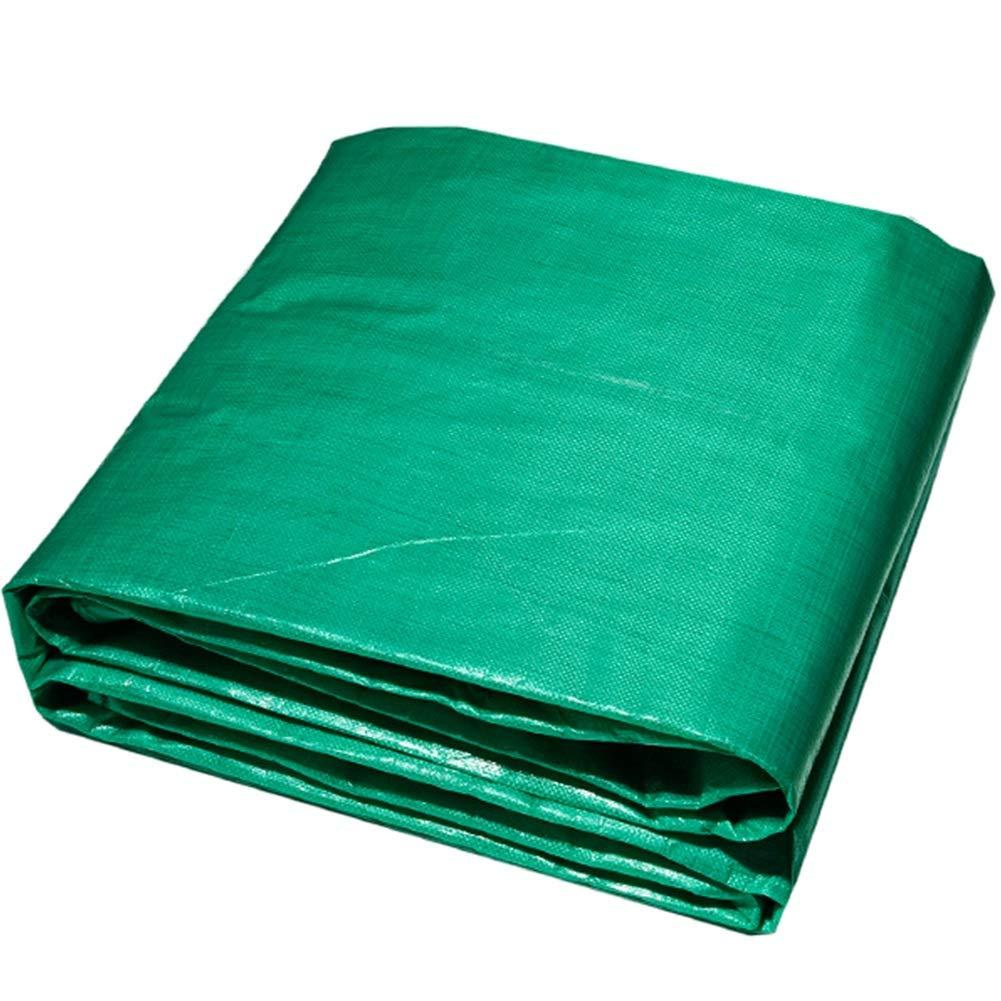 20 Taglie GDMING Telone Occhiellato Impermeabile Telo Occhielli Rinforzati Tela Parasole Anti-UV Protezione della Neve Tutte Le Stagioni Giardino Auto Piscina Color : Green, Size : 2x2m