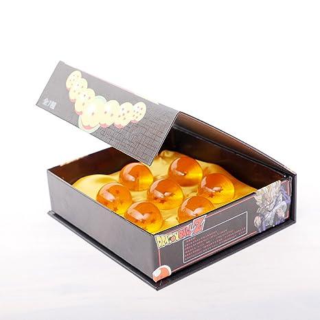7pcs/set 2,5 cm Dragon Ball Z nuevo en bolsa 7 estrellas ...