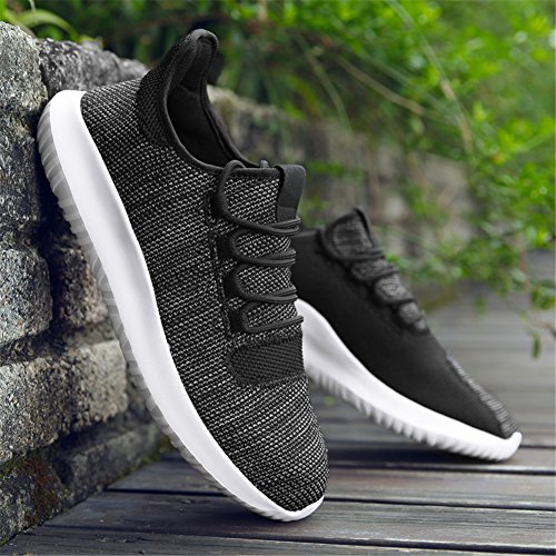 Sports Ladies IceUnicorn Trainers Lightweight 85 Gym Running Womens Shoes Fitness Trainers Walking Black R88qWTd