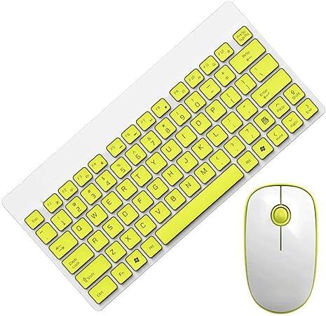 Juego de ratón y teclado inalámbrico inalámbrico de ...
