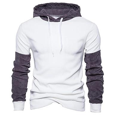 quality design 83e56 69f2f ITISME Herren Pullover Mens 'Long Sleeve Hoodie Mit Kapuze ...