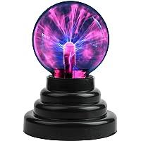 WiseGoods - Magische plasmabol, 15 cm lichtbal, plasmabal, elektrostatische bal, plasmallamp, aanraakgevoelige flitsbol.