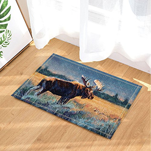 Moose Doormats Kritters In The Mailbox Moose Doormat