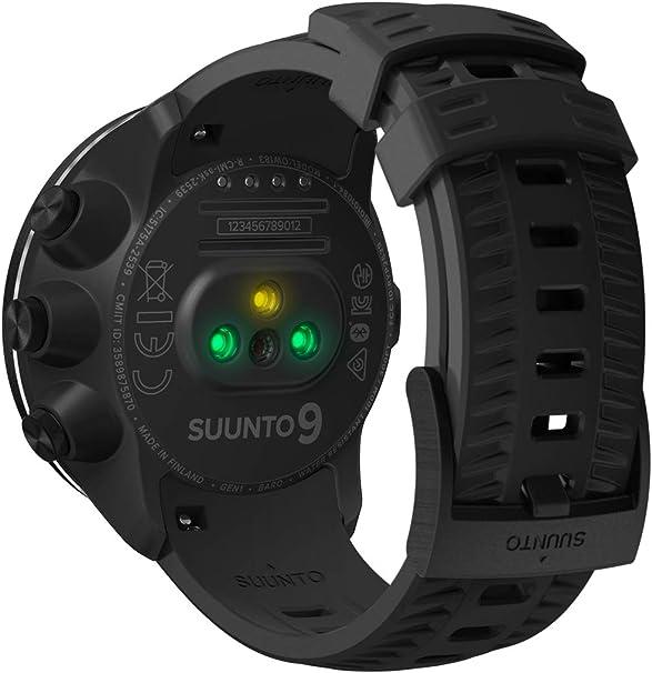 Suunto 9 Baro Reloj Multideporte GPS sin cinturón de frecuencia ...