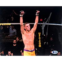 $49 » Nate Diaz Signed UFC MMA 8x10 Photo The Ultimate Fight 5 Victory BAS