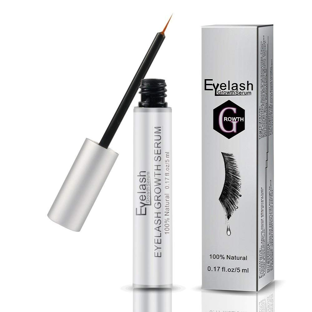 Eyelash Growth Serum, Trippix Eyebrow Growth Serum, FDA Approved Natural Brow & Lash Enhancing Formula for Longer, Thicker Eyelashes and Fuller Eyebrows