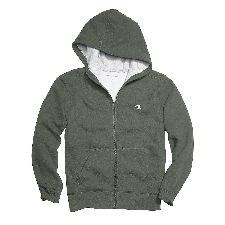 Top Champion Boys Zip Hoodie,C8369R,S,Fatigue Green supplier