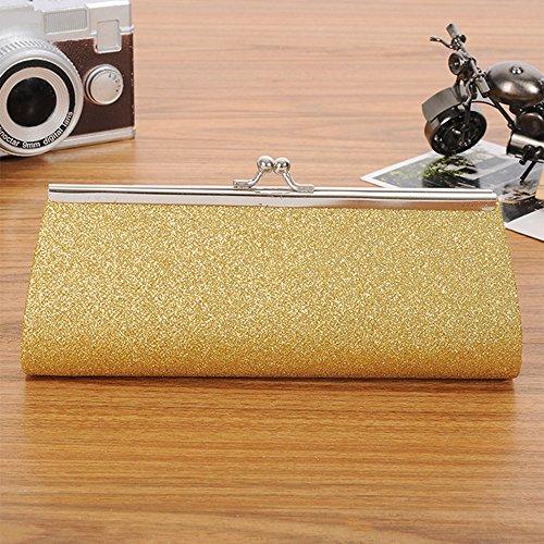Glitter Wallet Handbag Prom Sparkly Gold Party Clutch Wedding Girls Bridal Women Evening Ladies Purse xtXqzwYSBa