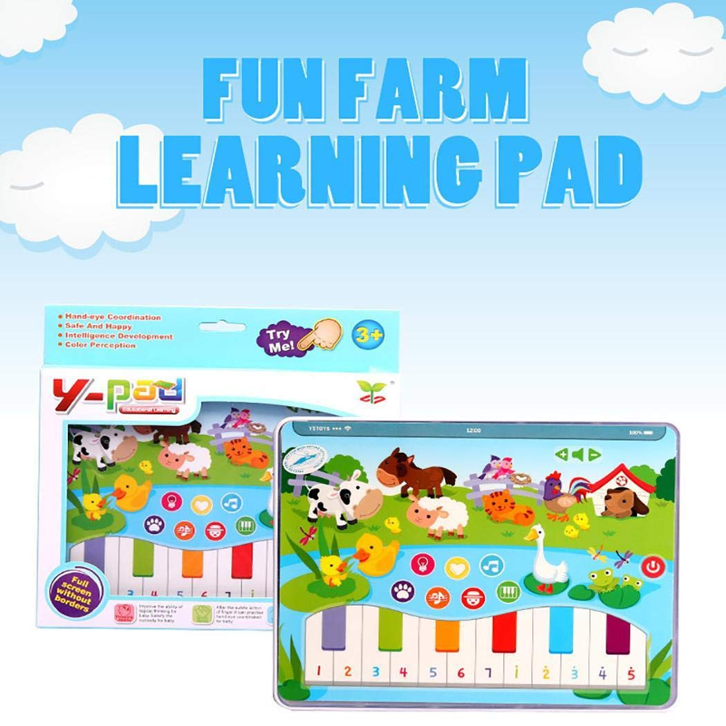Breven Kids Early Educational Tablet Toy,Kids Learning Machine,English Learning Musical Machine Children Gift by Breven