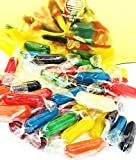 hard candies fruit flavored - Assorted Fruit Flavored - Rods Hard Candy Kosher - Cherry, Apple, Butterscotch, Peppermint, Tangerine, Strawberry, Pineapple, Licorice and Lemon 3 pounds