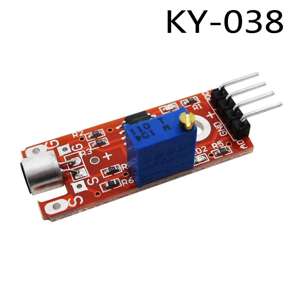 5PCS Microphone Sensor AVR PIC High Sensitivity Sound Detection Module Arduino