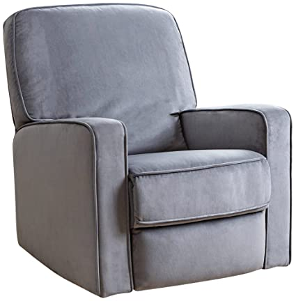 Brilliant Amazon Com Abbyson Ravenna Fabric Swivel Glider Recliner Gmtry Best Dining Table And Chair Ideas Images Gmtryco