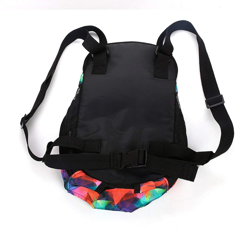 Outdoor Usage Pet Travel Dog Chest Carrier Bag Pet Bag Carrier Fashion Dog Backpack Chest Bag Travel Safety,Color 2,L Within 5.5 Kgs