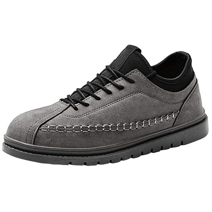 57d96792ff7ce Qinsling Scarpe Uomo Scarpe Running Estive Scarpe Uomo Sneakers Scarpe da  Ginnastica Fondo Piatto Uomo Scarpe