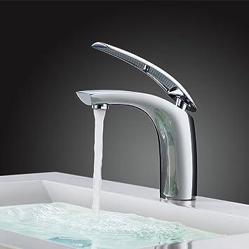 Homelody Wasserhahn Bad Einhebelmischer Mischbatterie Chrom