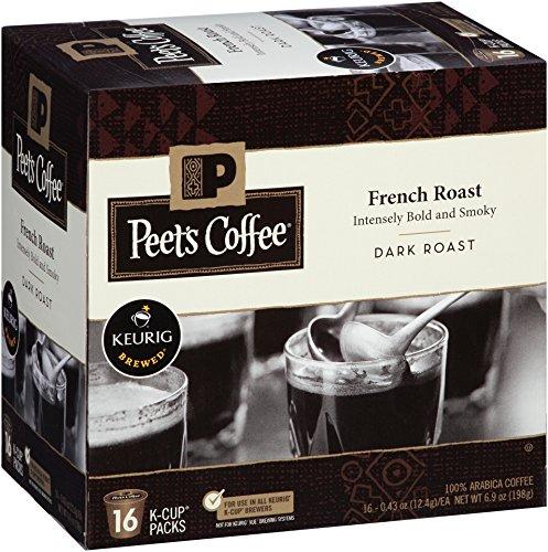 Peet's Coffee French Roast Hidden Roast 16ct K-Cup Pack