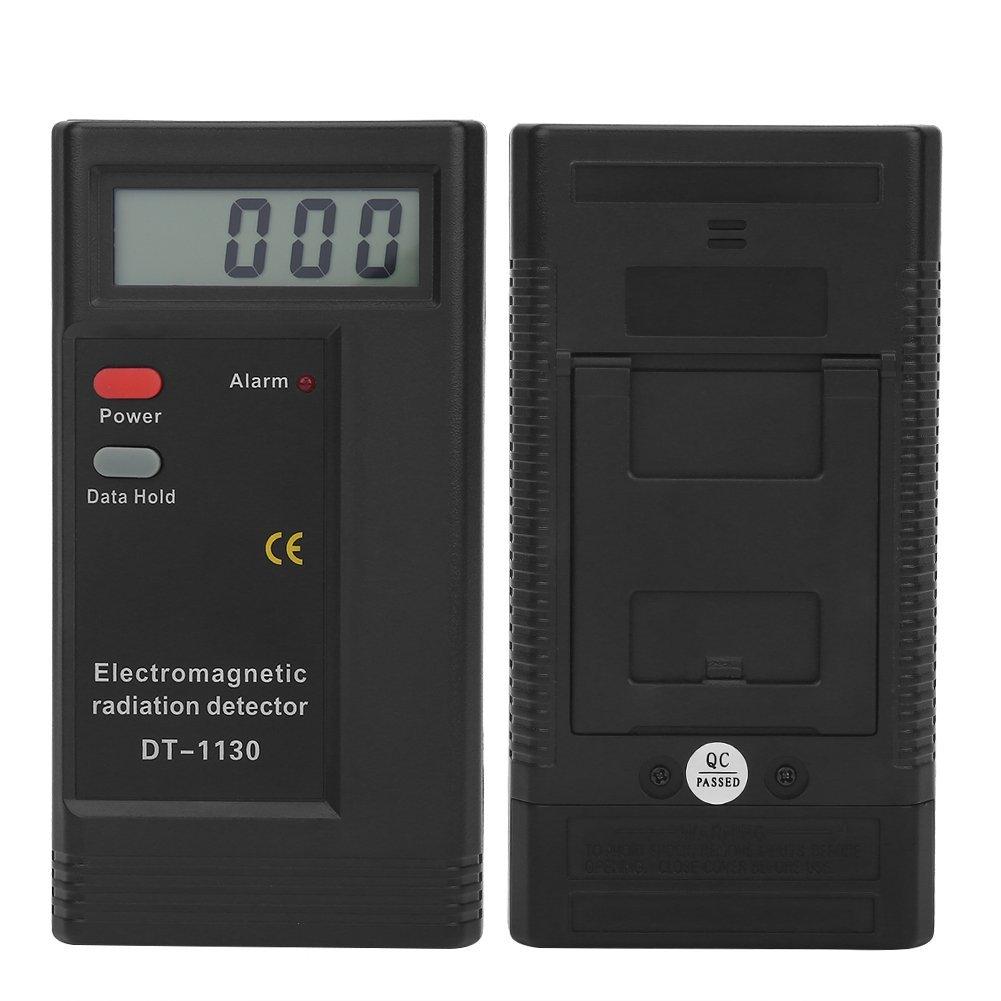 Detector de radiación electromagnético digital LCD con medidor de dosímetro y contador de medidor de pantalla digital: Amazon.es: Amazon.es