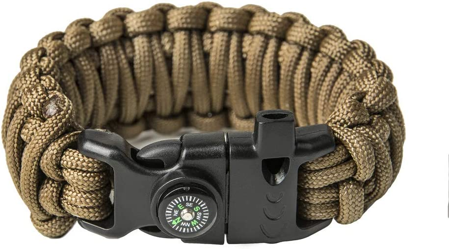 Swamp Fox Indianapolis Colts Paracord Keychain with Caribiner 6 inches