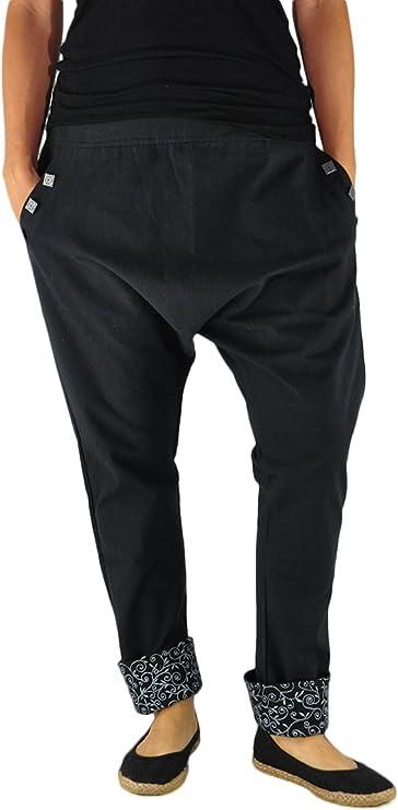 virblatt – Pantalones cagados Mujer Elegantes Pantalones Estilo ...