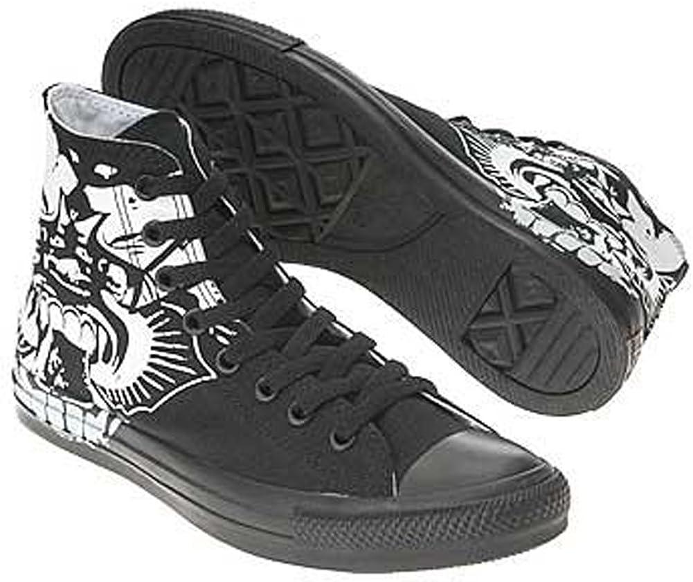 Star Chuck Taylor Skulls Hi Casual Shoe