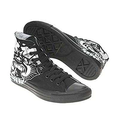 44caad4666ec Image Unavailable. Image not available for. Color  Converse Men s All Star  Chuck Taylor Skulls ...