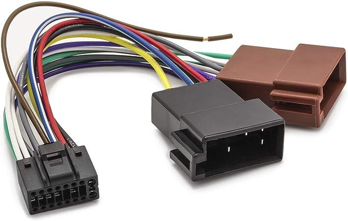 Adapter Universe Din Iso Auto Radio Adapter 16 Pin Elektronik
