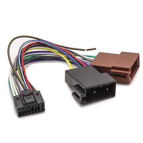 Schema Collegamento Autoradio Pioneer : Adapter universe cavo adattatore din iso per autoradio 16 pin