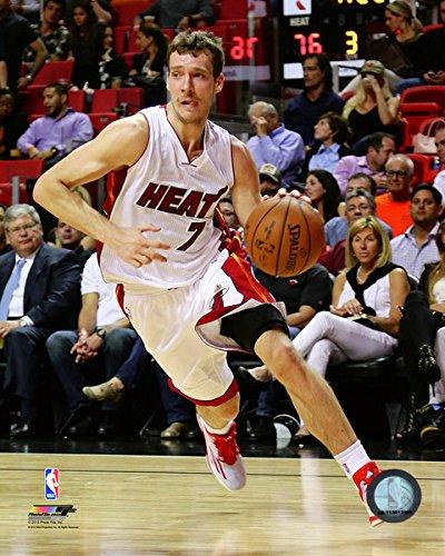 Miami Heat Photograph (Goran Dragic Miami Heat 2014-2015 NBA Action Photo (Size: 8