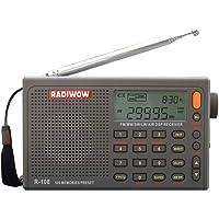 RADIWOW R-108 Radio Digital De Banda Completa FM SW Portátil Con Antenas De Radio Para Radioaficionados Radio De Batería Recargable Incorporada