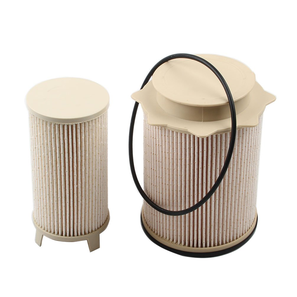 2 X Fuel Filter 68157291aa Fits 2013 2017 Dodge Ram 2500 3500 4500 On A Diesel Location
