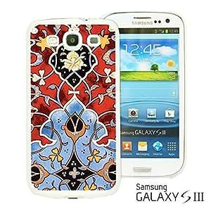 OnlineBestDigitalTM - Flower Pattern Hardback Case for Samsung Galaxy S3 III I9300 - Persian Pattern