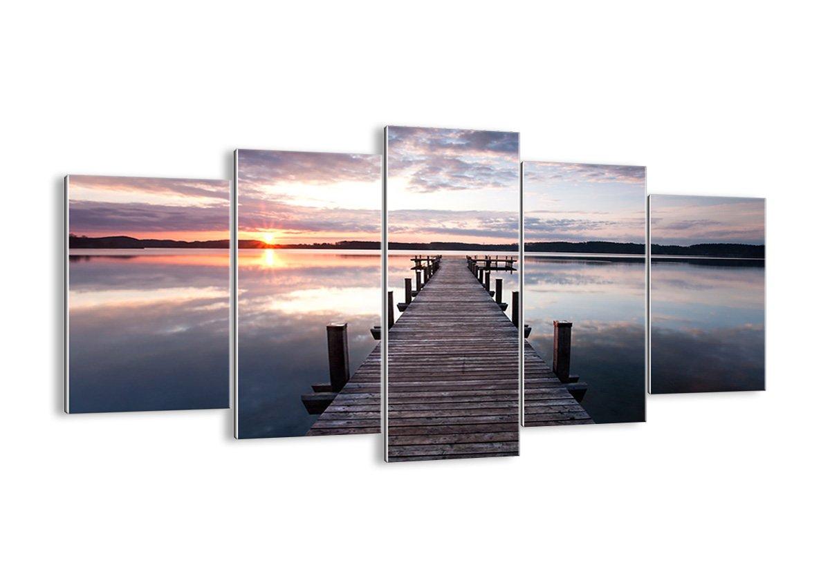 Bild auf Glas - Glasbilder - fünf Teile - Breite  160cm, Höhe  85cm - Bildnummer 2635 - fünfteilig - mehrteilig - zum Aufhängen bereit - Bilder - Kunstdruck - GEA160x85-2635