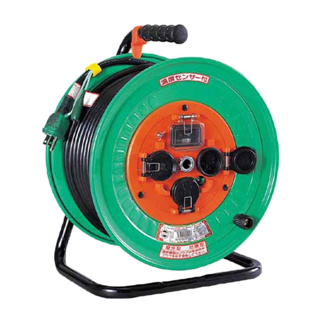 日動 電工ドラム 防雨防塵型100Vドラム アース漏電しゃ断器付 30m NWEB33 B002MRGDUK