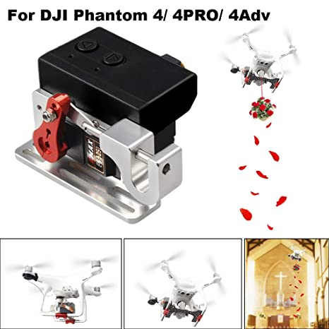 FGDJEE Actualización Drone Clip Payload Entrega Drop Dispositivo ...