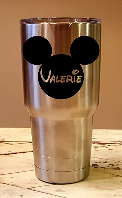 1e757b6c293 Amazon.com | Personalized YETI 30 oz. Tumbler Disney Mickey Mouse CUSTOM  Laser Engraved: Tumblers & Water Glasses