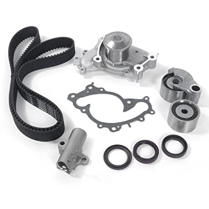 amazon com timing belt kits with water pump for 2001 2010 toyota