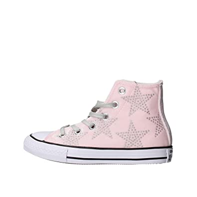 Converse Ctas Hl Chaussures de Sport Femme Rose rose Baskets