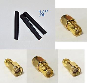 3 pieza b-11 a SMA macho a SMA hembra Jack RF coaxial adaptador convertidor