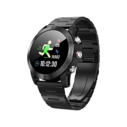 Amazon.com: Smart Watch 1.3 Inch Touch Screen Heart Rate ...