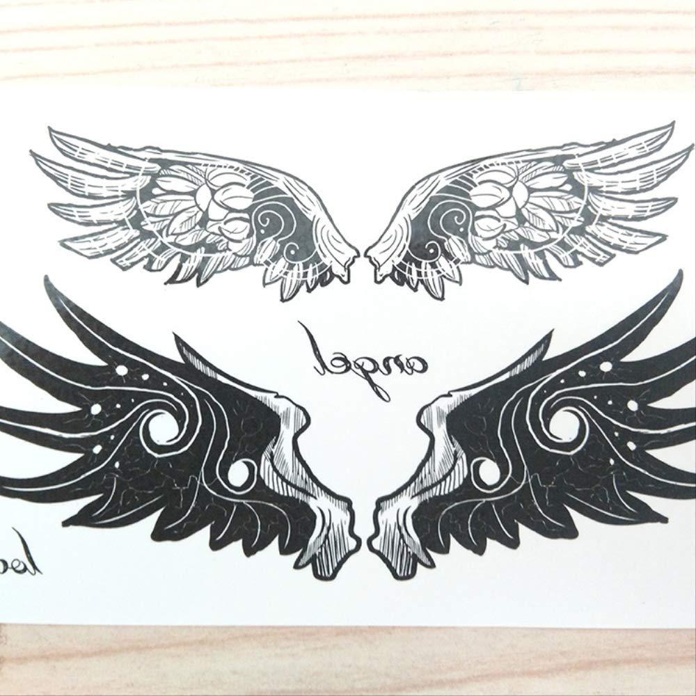 Brazo pecho ombligo alas de ángel alas hombres y mujeres ...