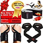 NATARIFITNESS..COM  61gu8AndhlL._SS150_ Hustle Athletics Wrist Wraps Weightlifting - Best Support for Gym & Crossfit - Brace Your Wrists to Push Heavier, Avoid…