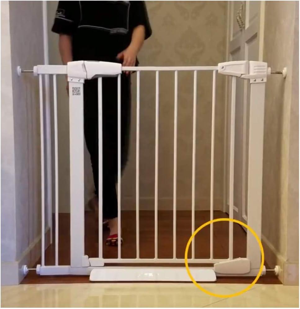 Barreras de puerta Puertas For Bebés Extra Anchas Patio De Juegos Puerta De Seguridad For Niños Extensible Barandilla Valla Protectora For Puerta Pasillo For Mascotas Valla For Puerta Cerca De Aislami: Amazon.es: