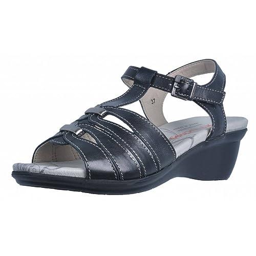 d2b4c3f0 Sandalias y Chanclas para Mujer, Color Negro, Marca FLUCHOS, Modelo  Sandalias Y Chanclas para Mujer FLUCHOS 8989 Negro: Amazon.es: Zapatos y  complementos