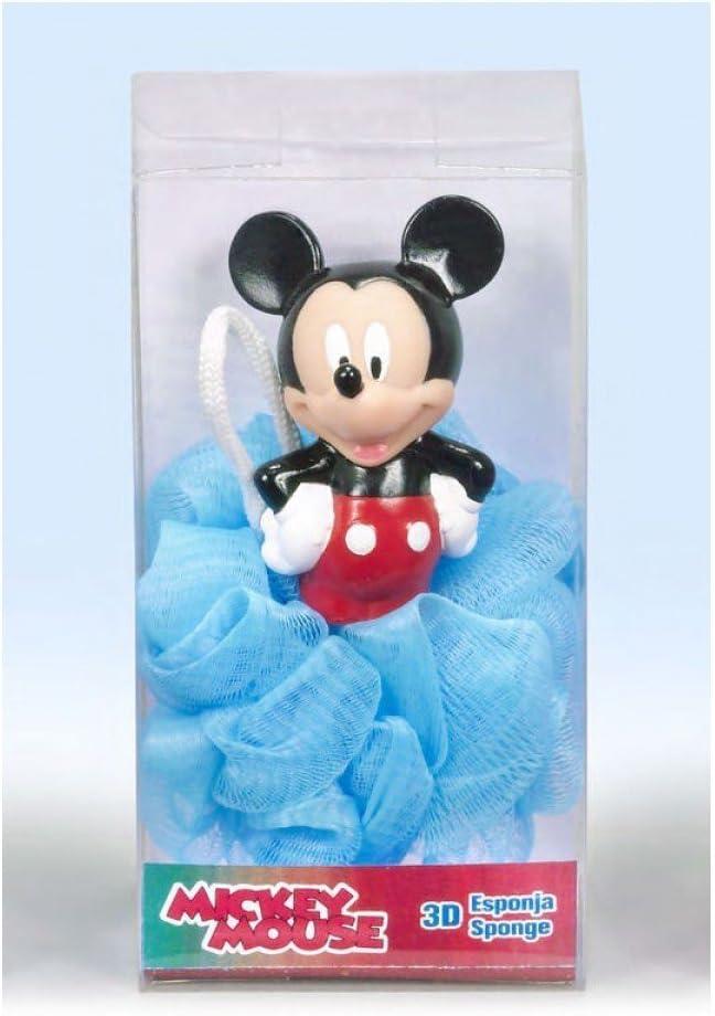Esponja de baño con figura 3d de Mickey Mouse: Amazon.es: Juguetes ...