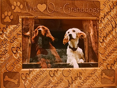 We Love Our Granddogs 4 X 6 Frame Home Product Finder