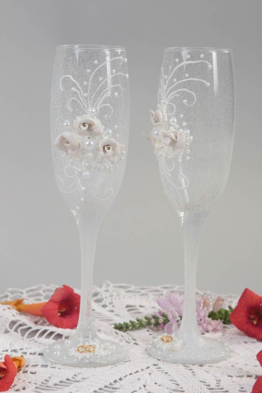 Hecho a mano, diseño de copas de champán, vasos de vino Service ...