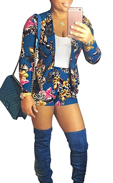 Amazon.com: Chaqueta de manga larga para mujer + pantalones ...
