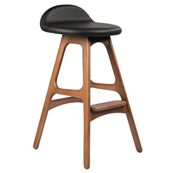 Amazon Erik Buch OD Mobler Inspired Teak Counter Stool Home