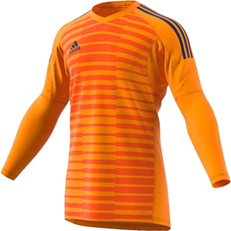 58ed8803a Boys adidas ADIPRO 18 JUNIOR GoalKeeper Jersey ucky orange orange unity ink  For Soccer